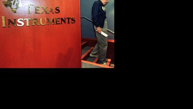 Minder winst voor chipmaker Texas Instruments