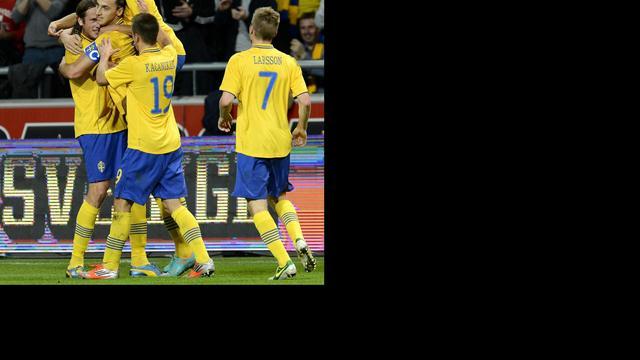 Zlatan scoort vier keer tegen Engeland