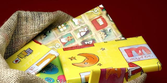 Sinterklaas is minder geld kwijt aan cadeaus