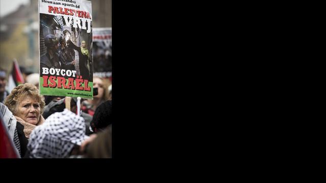 Demonstratie Groningen tegen oorlog Gaza