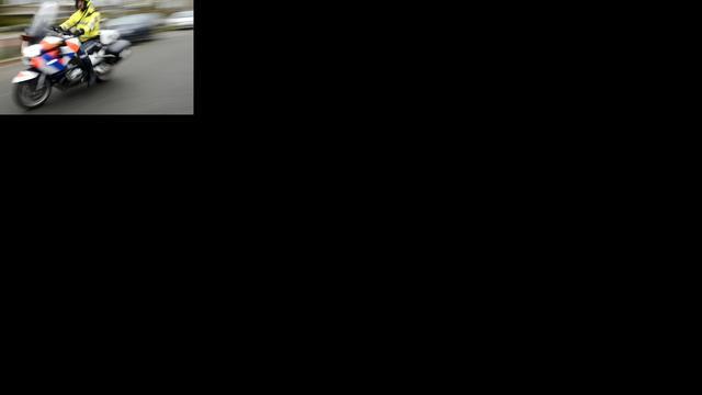 13-jarige autodief klemgereden op A59