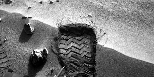 Curiosity ontdekt geen methaan op Mars