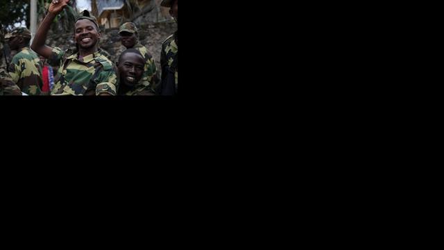 Congo praat alleen als rebellen Goma verlaten