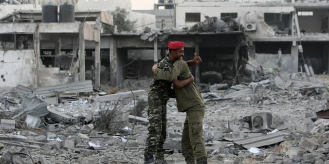 Israëlische luchtaanval op Gazastrook