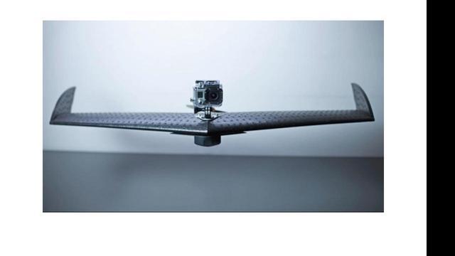 Bedrijf maakt onbemand vliegtuig voor actiecamera's