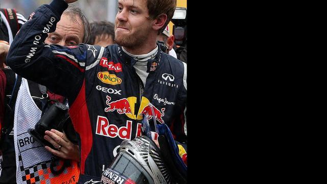 'Ferrari overweegt protest tegen Vettel'