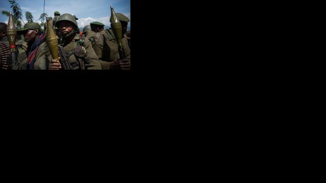 Krijgers verslikken zich in blauwhelmen Oost-Congo