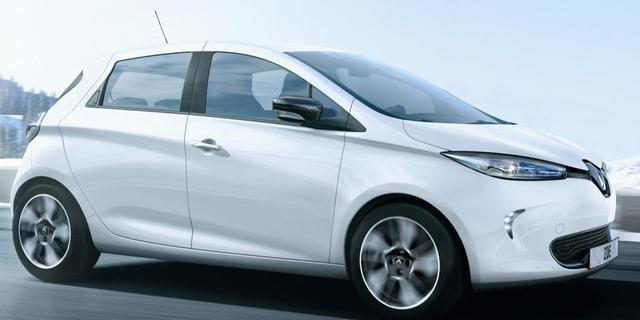 Elektrische Renault Zoe blijft nog even thuis