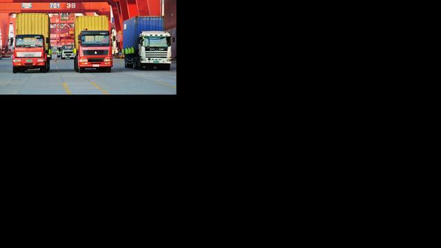Truckers in actie tegen liberalisering transport