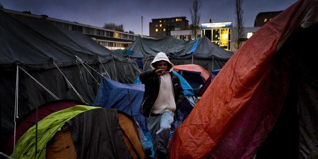 Amsterdam ontruimt tentenkamp vrijdag