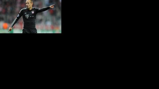Robben haalt ook topper tegen Dortmund niet