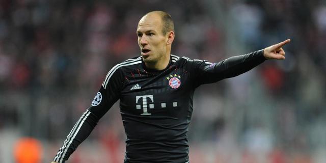 Robben mist ook topper tegen Dortmund