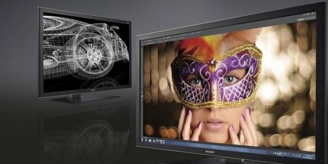 Sharp onthult 32-inch monitor met igzo-paneel