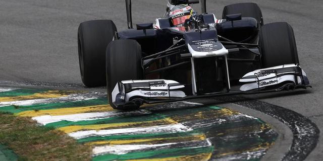 Maldonado en Bottas coureurs Williams in 2013