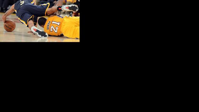 Los Angeles Lakers in slotseconde onderuit
