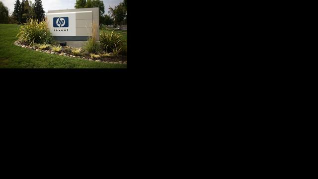 Hewlett-Packard ziet omzet licht dalen