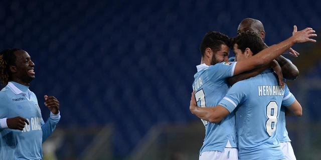 Lazio Roma moeiteloos langs Udinese