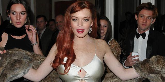 'Lindsay Lohan aangeklaagd voor liegen tegen politie'