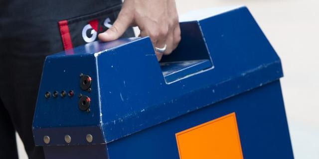 Geldkoffer gestolen bij bank in Rotterdam
