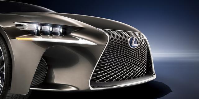 Lexus bouwt LF-LC