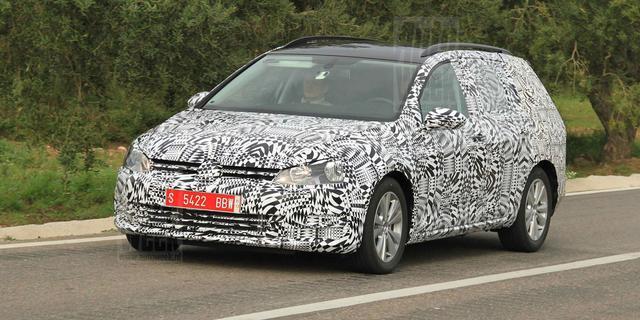 VW Golf Alltrack in de maak