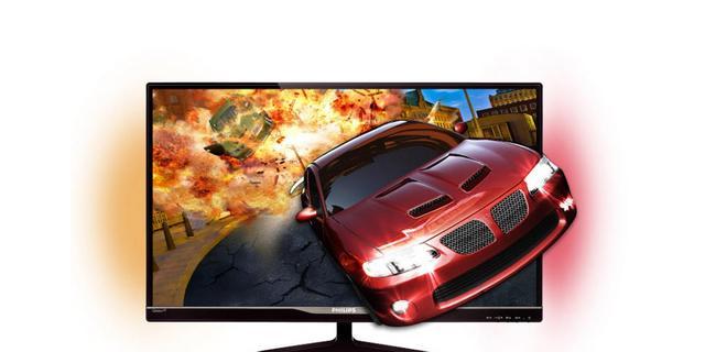 Philips lanceert 3d-monitor met 'Ambiglow'