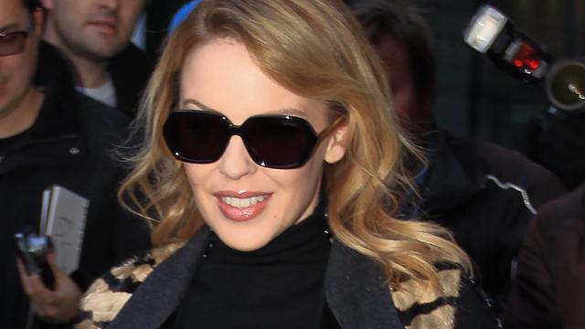Tijdschrift Photoshopt been Kylie Minogue weg