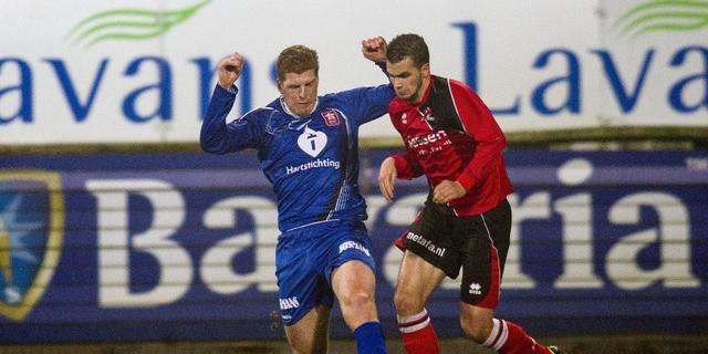 Helmond Sport niet langs tien man MVV