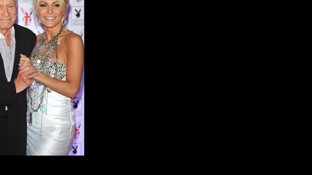 'Hugh Hefner en Crystal Harris verloofd'