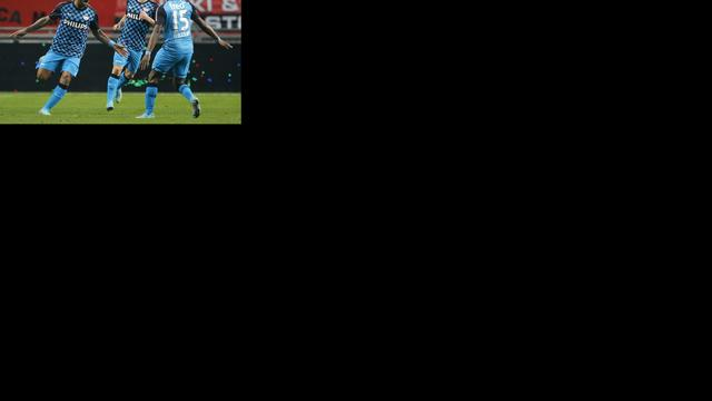 Twente verdedigt eerste plaats in Eindhoven