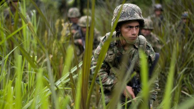 Leger Colombia doodt FARC-rebellen