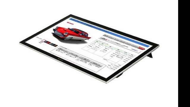 Sharp presenteert 20-inch stylusscherm