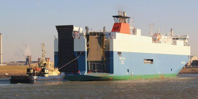 Nog zes vermisten na botsing Noordzee