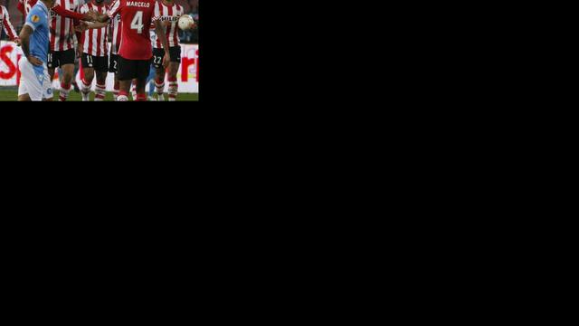 Matavz bezorgt PSV met hattrick zege op Napoli