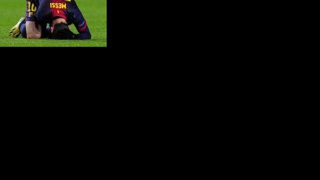Messi moet nog afwachten of hij zondag kan spelen