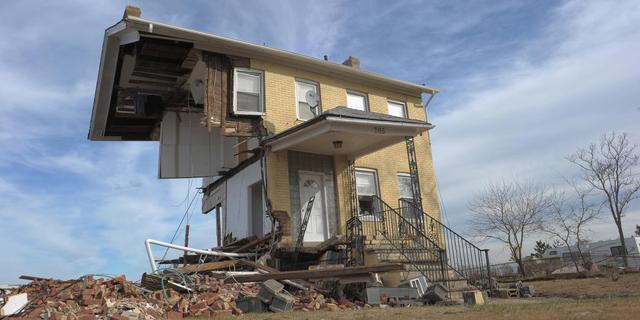 Puinruimen na Sandy goed voor werkgelegenheid