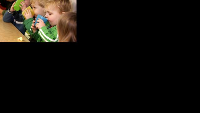 Kinderbijslag dag later op de rekening