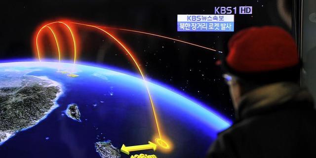 Noord-Korea lanceert raket