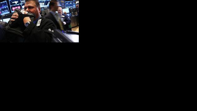 Dow Jones breekt door virtuele grens