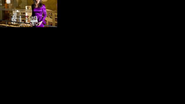 Pippa Middleton bedeesd bij boekonthulling Haarlem