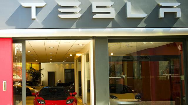 Europees distributiecentrum Tesla in Tilburg