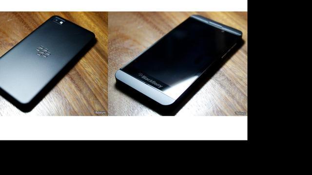 Foto's nieuw Blackberrytoestel lekken uit