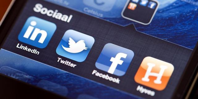 Nederlandse groei Facebook en Twitter stagneert