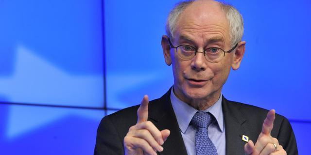 Van Rompuy ziet economisch herstel in Europa