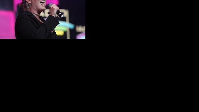 Kim Wilde breekt wereldrecord met optreden in vliegtuig