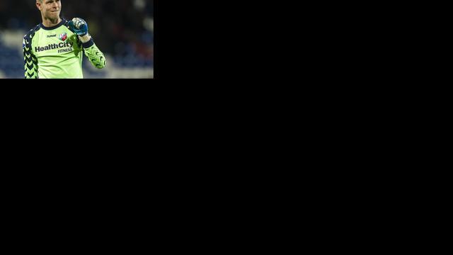 FC Utrecht verwacht doelman Ruiter snel terug