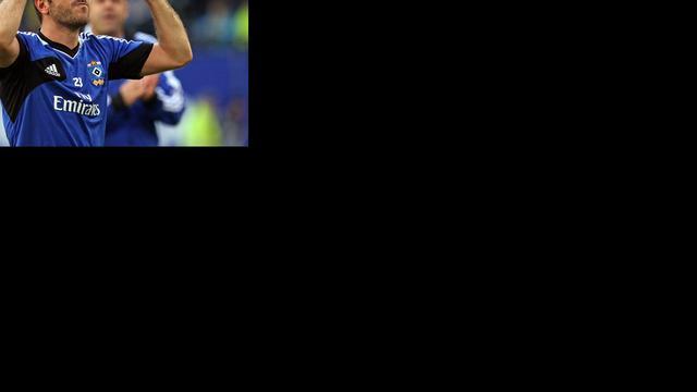 Herstelde Van der Vaart gaat met HSV mee op trainingskamp