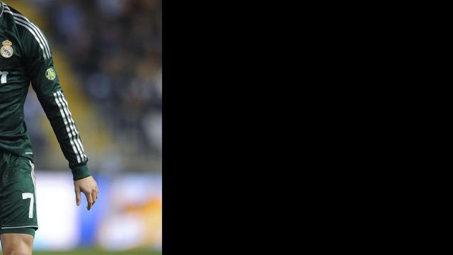 'Ronaldo weigert contract te verlengen bij Real Madrid'
