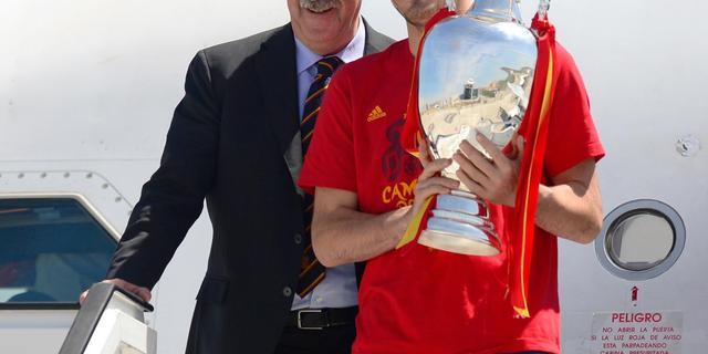 Del Bosque: 'Casillas is de trots van Real Madrid'