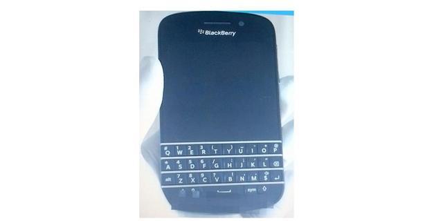 Foto's nieuwe Blackberry met toetsenbord lekken uit
